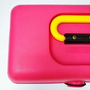 Caboodles Storage & Organization - Vintage Hot Pink and Black Caboodle Case
